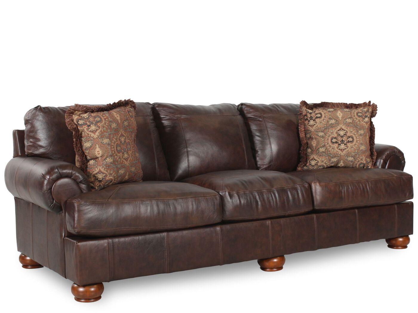 Ashley axiom walnut sofa ashley axiom walnut sofa