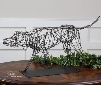 Uttermost Hound Dog Sculpture