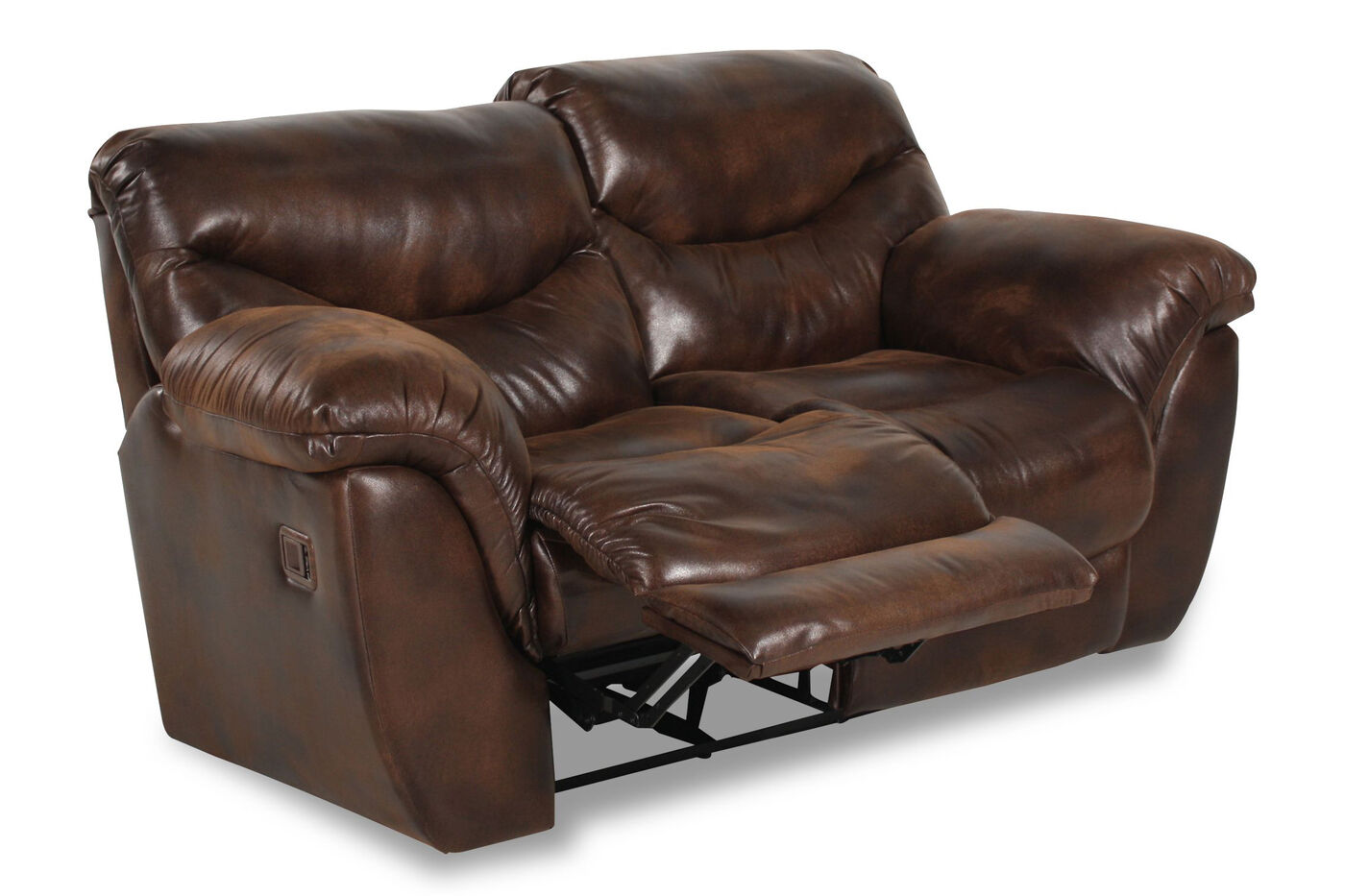 Lane Dreamer Espresso Reclining Loveseat Mathis Brothers Furniture
