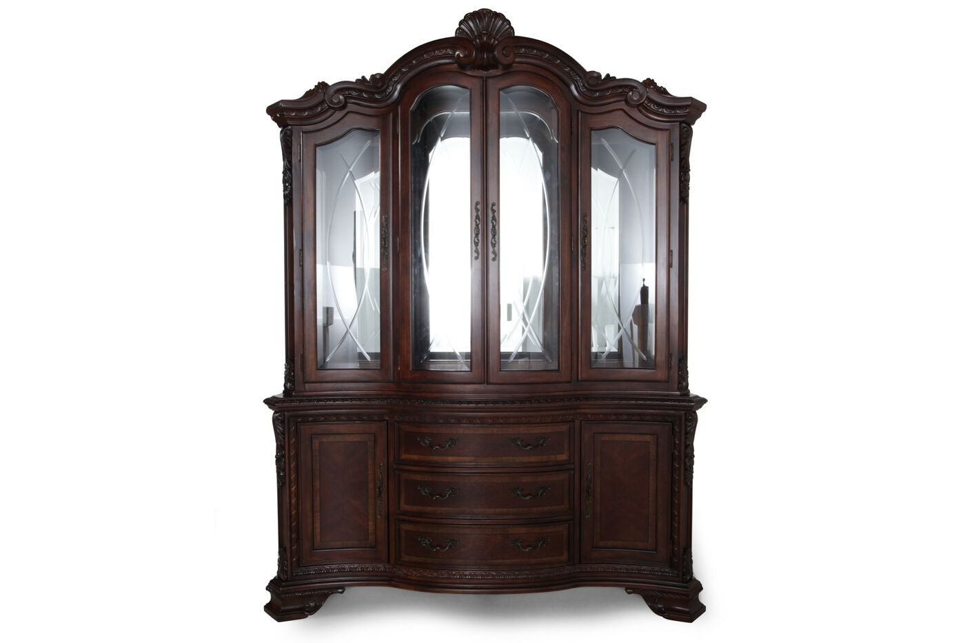 A R T Furniture Old World China Cabinet