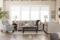 Ashley Lainer Alloy Gray Loveseat