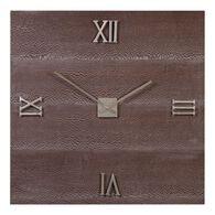 Uttermost Michaela Brazilian Oak Wall Clock