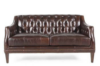 A.R.T. Furniture Kennedy Walnut Settee