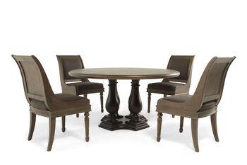 Bernhardt Belgian Oak Five-Piece Dining Set