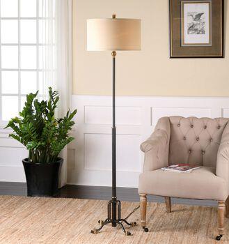 Uttermost Halvern Metal Floor Lamp