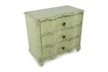 Hooker Three Drawer Rose Chest