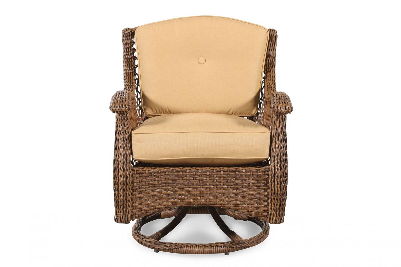 Agio Veranda Patio Swivel Rocker Chair Mathis Brothers