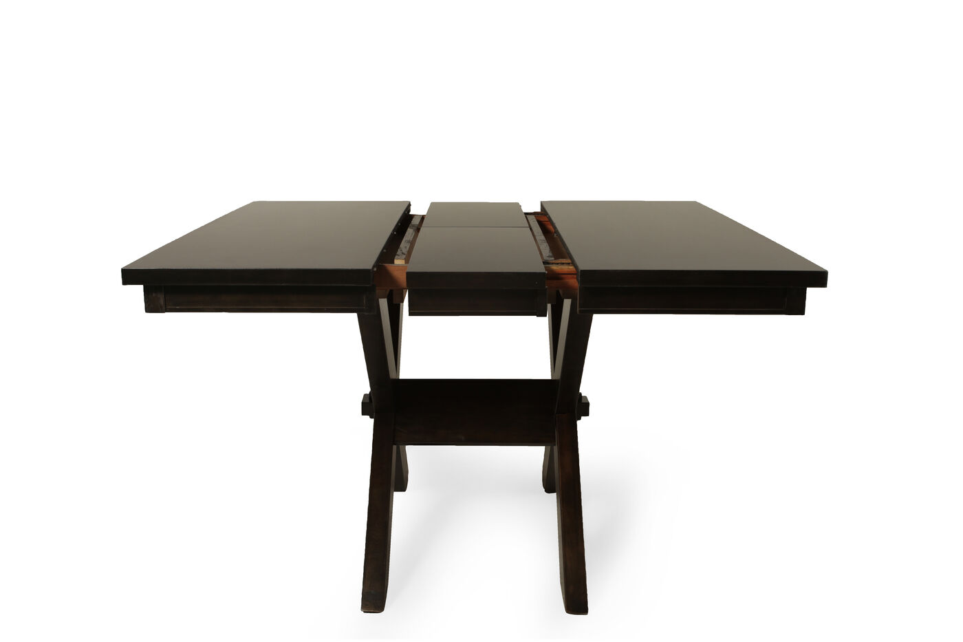 Winners only edgewater trestle table mathis brothers for Dining table only