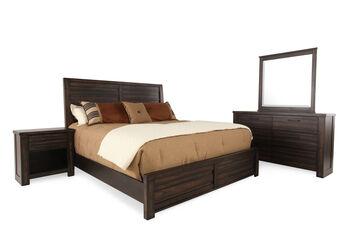 Samuel Lawrence Ruff Hewn Queen Bedroom Suite