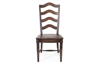 Hooker Willow Bend Pair of Ladderback Side Chairs