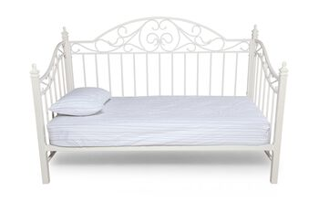 Ashley Exquisite White Daybed