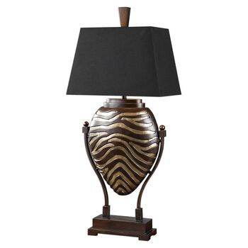 Uttermost Aguila Dark Bronze Table Lamp