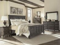 Magnussen Home Calistoga King Panel Bed