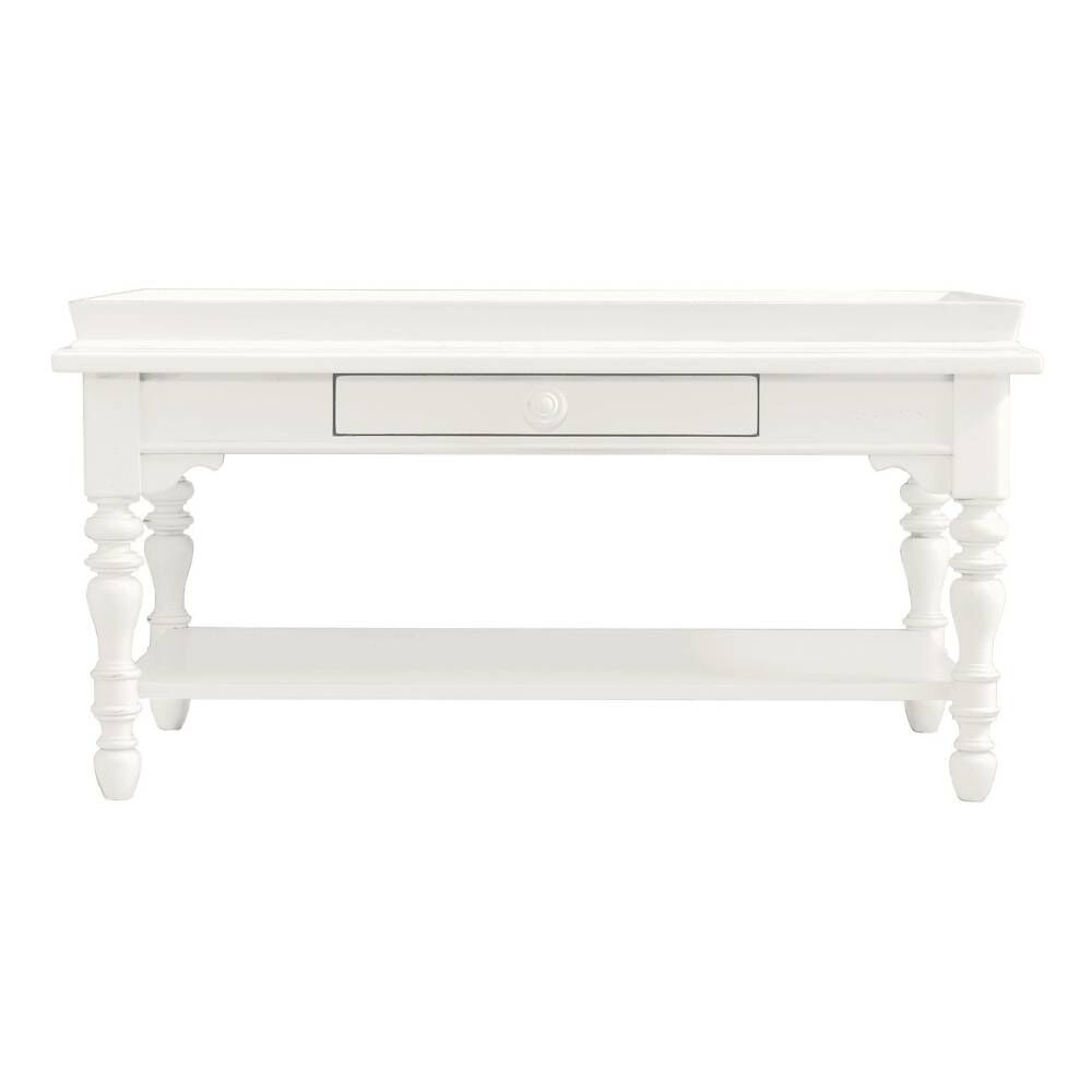 Stanley Coastal Living Retreat Saltbox White Sand Box Cocktail Table Mathis Brothers Furniture