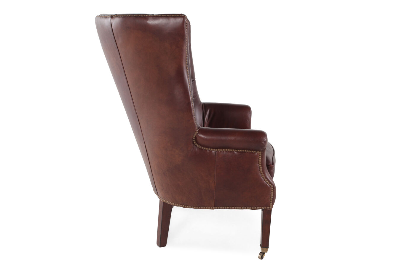 Henredon Leather Chair Mathis Brothers Furniture
