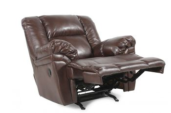 Ashley Performance Leather Brindle Recliner