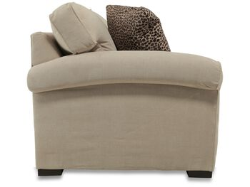 Jonathan Louis Chrome Full Sleeper Loveseat