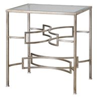 Uttermost Eilinora Silver End Table