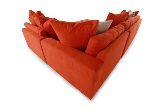 Jonathan Louis Noah Orange Sectional