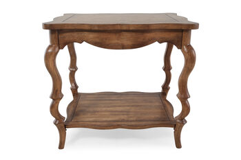 Hooker Archivist French Leg Accent Table
