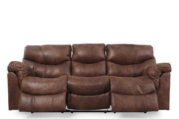 Ashley Alezna Gunsmoke Reclining Sofa