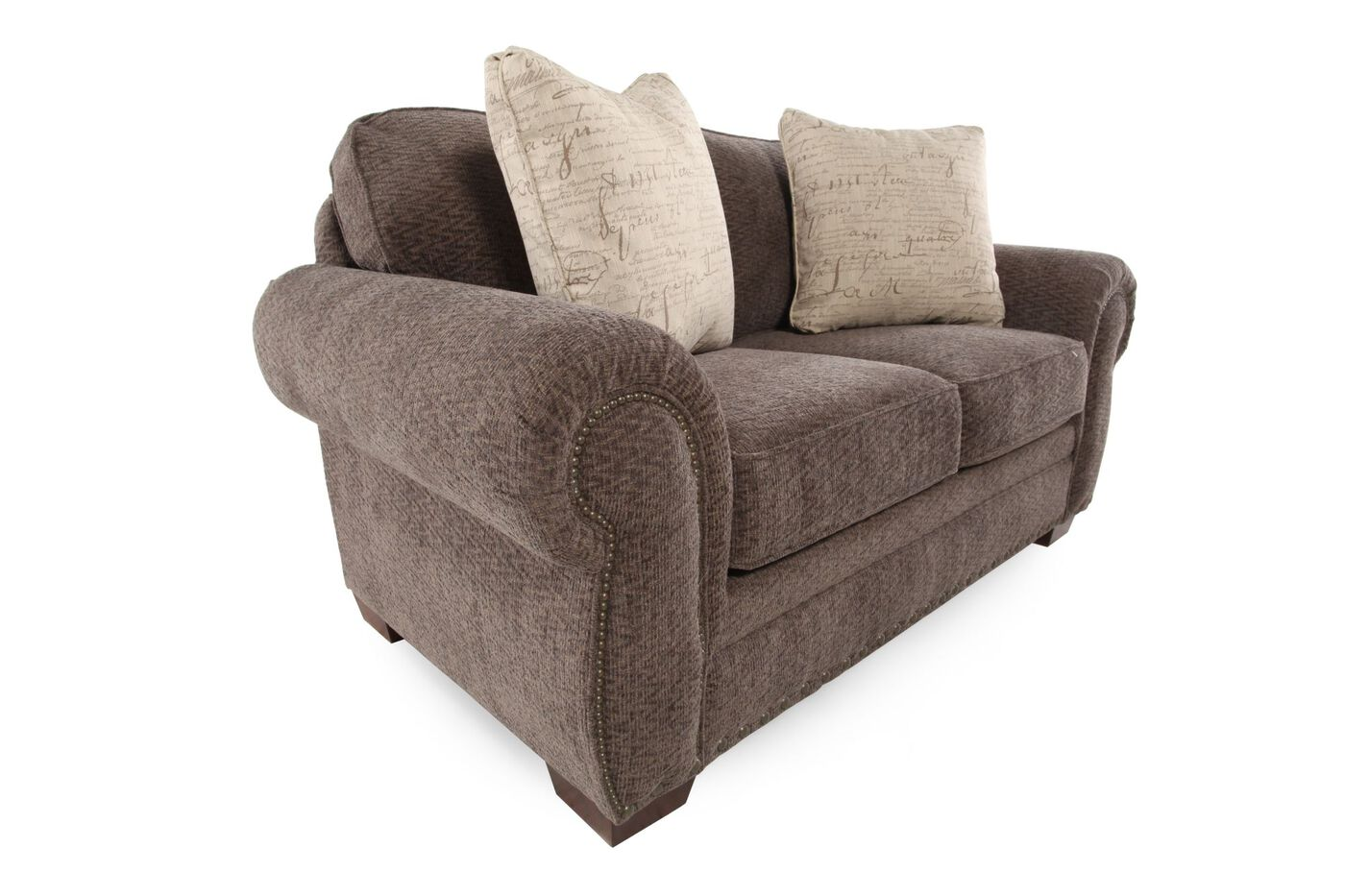 Broyhill Cambridge Chenille Loveseat Mathis Brothers Furniture