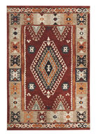 Ashley Oisin Brick Medium Rug