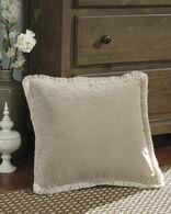 Ashley D'artagnan Tan Pillow
