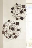 Ashley Oddie Brown Wall Decor Set (2/cn)