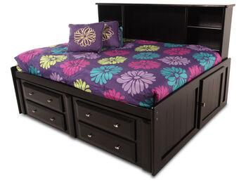 Trendwood Laguna Black Cherry Roomsaver Bed