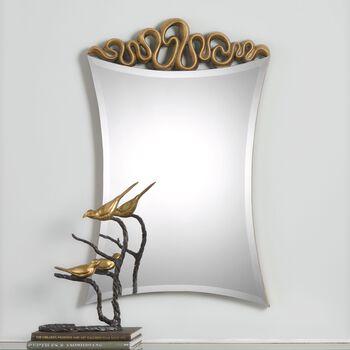 Uttermost Essonne Antiqued Gold Mirror