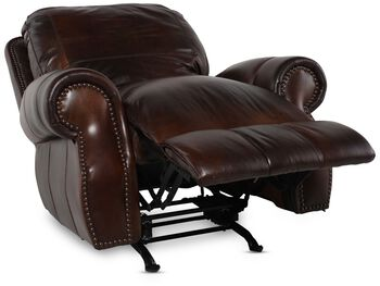 USA Leather Cowboy Rocker Recliner
