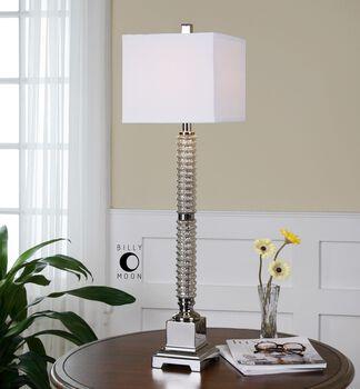 Uttermost Ardex Mercury Glass Buffet Lamp