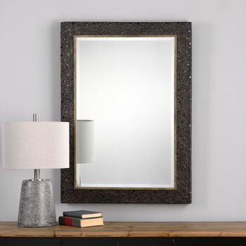 Uttermost Khalil Dark Bronze Mirror