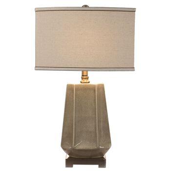 Uttermost Valbona Rust Gray Lamp