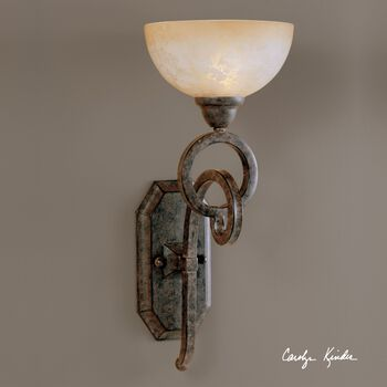 Uttermost Legato Glass Wall Sconce