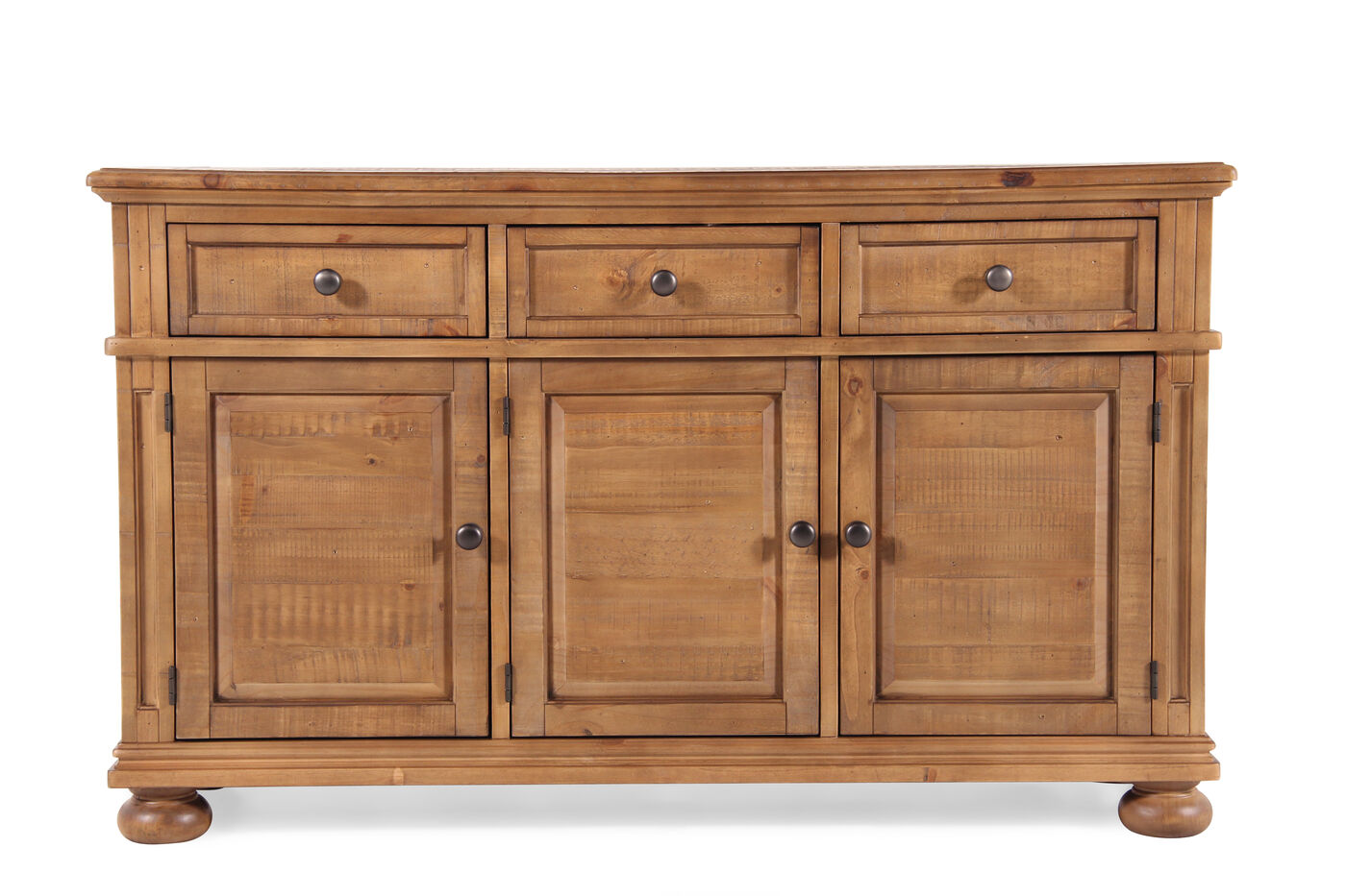 Ashley trishley dining room server mathis brothers furniture - Dining room server furniture ...