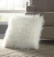 Ashley Giancario White Pillow