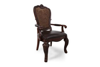 A.R.T. Furniture Old World Leather Arm Chair