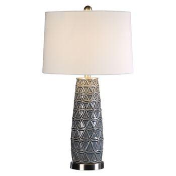 Uttermost Cortinada Stone Gray Lamp