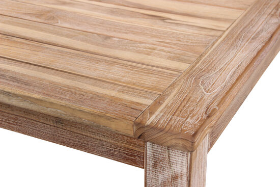 World Source Vineyard Haven Teak Bar Table