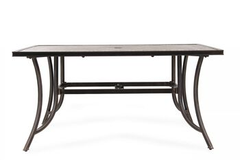 World Source Athens Rectangle Dining Table