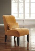 Ashley Annora Orange Accent Chair