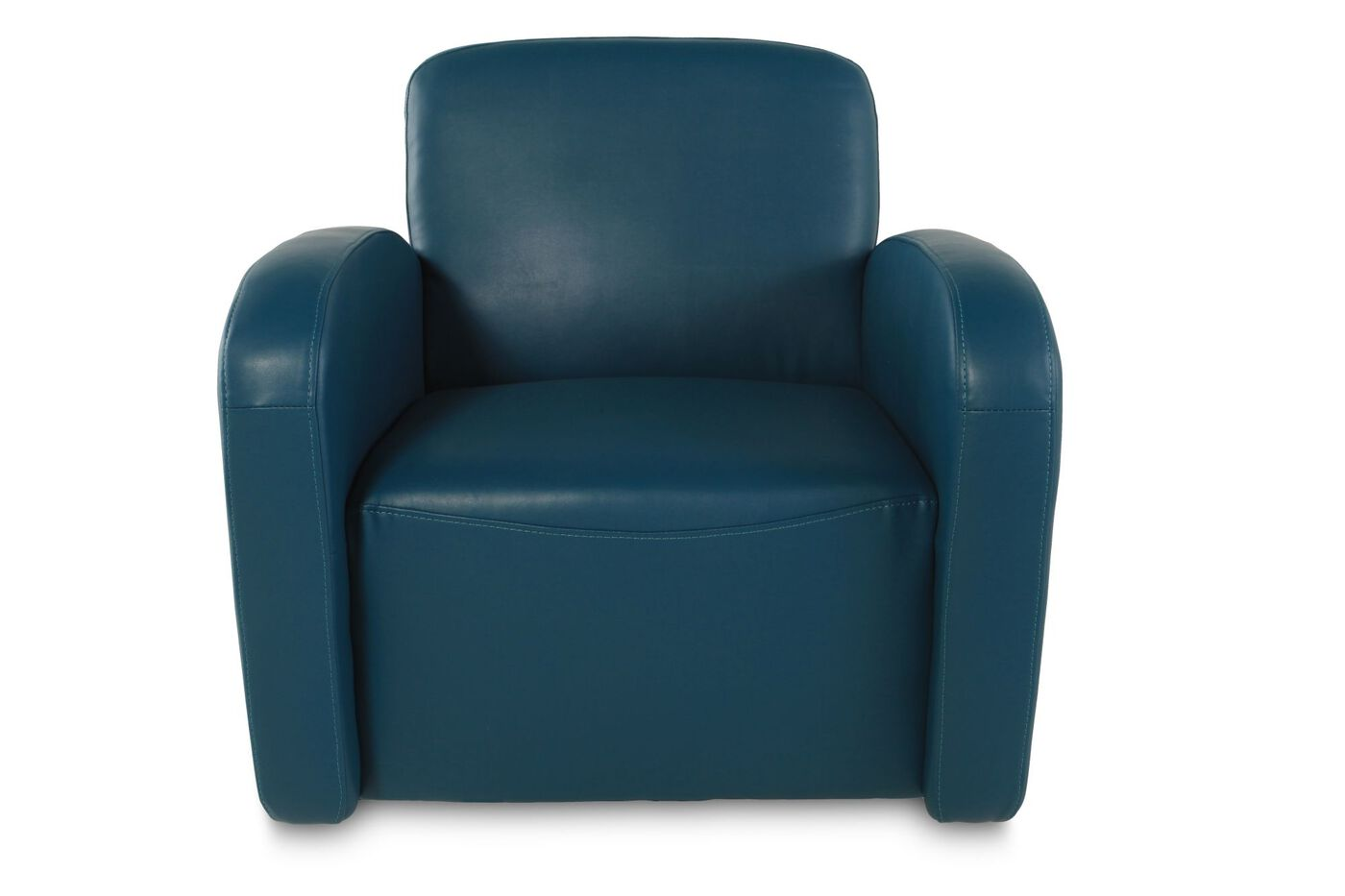 Boulevard Turquoise Swivel Chair | Mathis Brothers Furniture