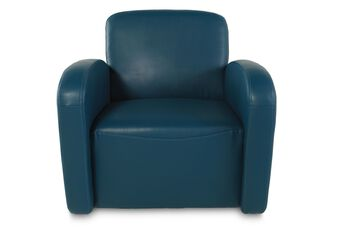 Boulevard Turquoise Swivel Chair