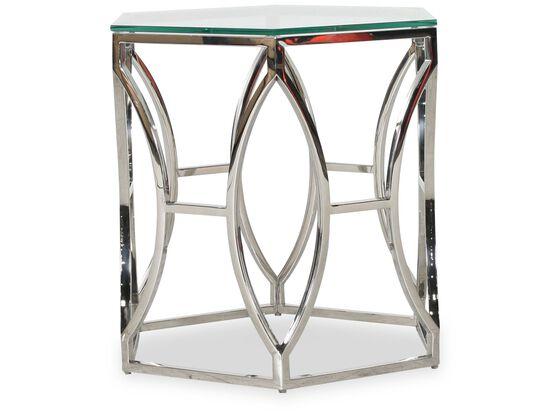 Bernhardt Interiors Argent Metal Side Table