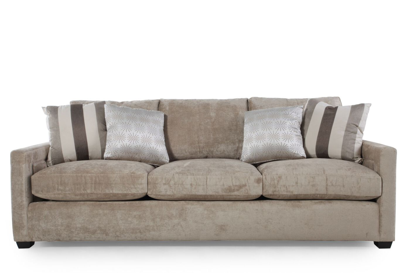 Bernhardt kelley sofa mathis brothers furniture for Mathis brothers living room furniture sectional sofas