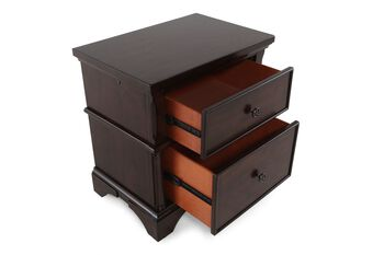 Aspen Bancroft Two Drawer Nightstand