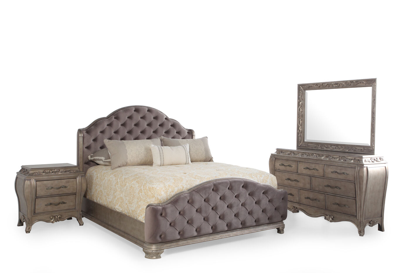 pulaski rhianna suite mathis brothers furniture. Black Bedroom Furniture Sets. Home Design Ideas