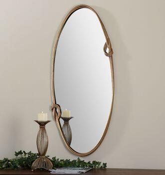 Uttermost Giacomo Gold Oval Mirror